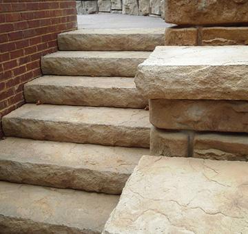 Redi-Rock Steps